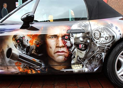 Auto Airbrush by Airbrush Painting Car Www Pixshark Images