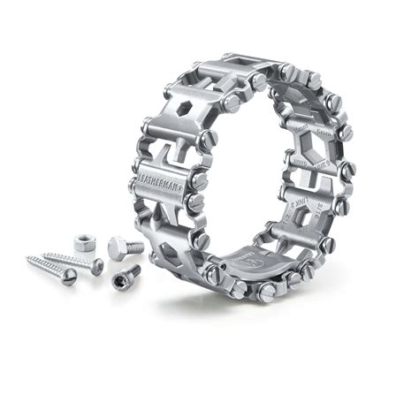 leatherman tread bracelet multifonctions leatherman 174 tread pas cher pro idee