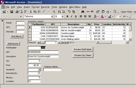 computer inventory access database template page not found singapore island jewellery store