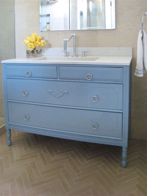 blue bathroom vanity cabinet how to turn a cabinet into a bathroom vanity bathroom