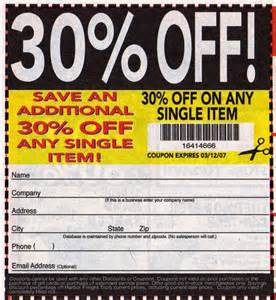 Free printable coupons harbor freight coupons