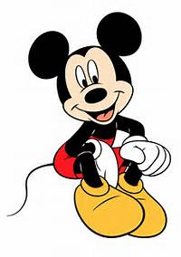 Mickey Mouse Clipart Vector 2