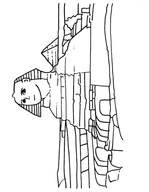 Sphinx Coloring Page Sphinx Free Coloring Pages by Sphinx Coloring Page