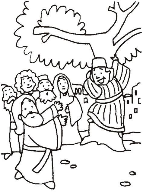 imagenes de jesus y zaqueo para colorear desde mi rinc 243 n de religi 243 n zaqueo colorear
