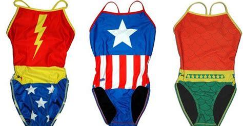 Swimsuit Swimwear Captain America take a splash this summer with splish s swimwear fashion