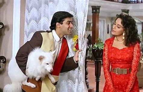 hum aapke hain koun dog images did you know madhuri adopted someone from hum aapke hai