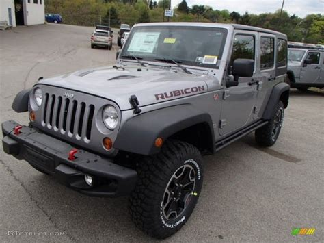 silver jeep rubicon billet silver metallic 2013 jeep wrangler unlimited