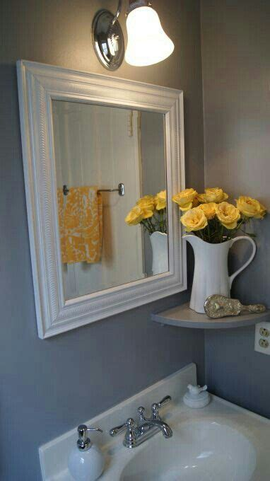 yellow and grey bathroom decorating ideas 11 best yellow gray bathroom ideas images on pinterest