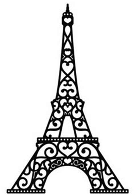 eiffel tower silhouette clipart free stock photo public