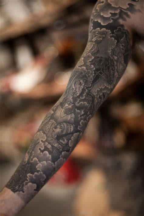 four arm tattoo designs glorious sleeve in the traditional japanese style