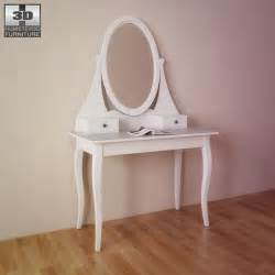Ikea Vanity Hemnes Ikea Hemnes Dressing Table With Mirror 3d Model Humster3d