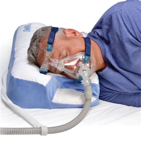 Sleeping On Two Pillows by Contour Cpap Multi Mask Sleep Aid Pillow Cpap Pillow 2 0 Ebay