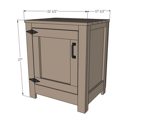 Nightstand Measurements by Kentwood Nightstands Or End Tables White