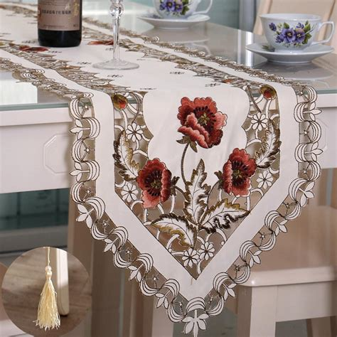 aliexpress buy polyester embroidery table