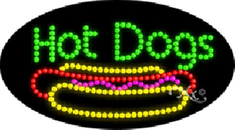 hot dogs animated led sign, on sale: $219.99