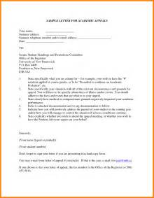 Academic Dismissal Appeal Letter Template by Straightforward Academic Dismissal Appeal Letter Exle