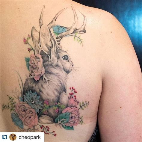 jackalope tattoo instagram 17 best images about ink therapy on pinterest owl owl