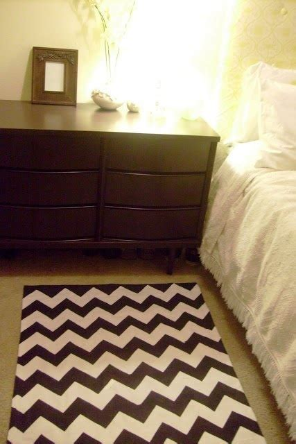 rugs for dorms diy chevron rug or curtain cool project for your college room residential