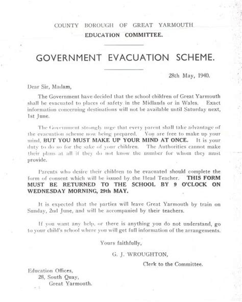 Parent Letter Host Family Sle Government Evacuation Scheme Consent Form Nen Gallery