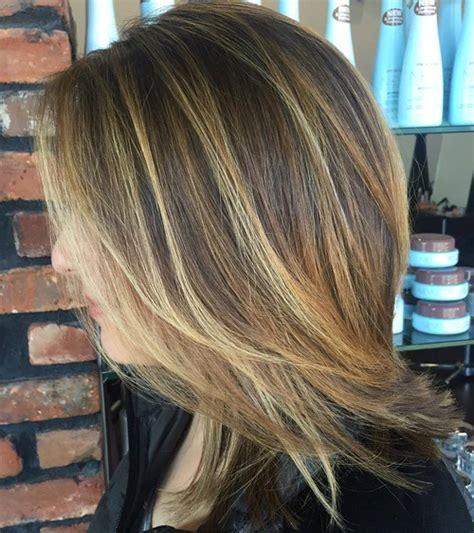 bayalage on medium layered hair 90 sensational medium length haircuts for thick hair
