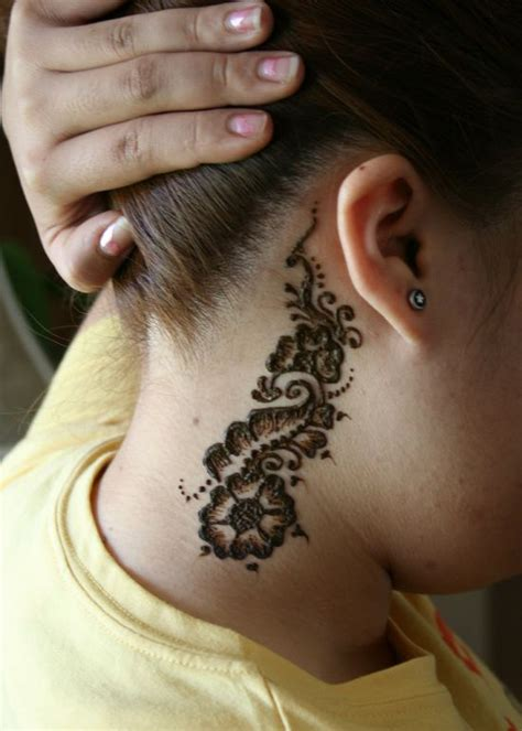 henna tattoo designs behind ear 51 creative henna designs