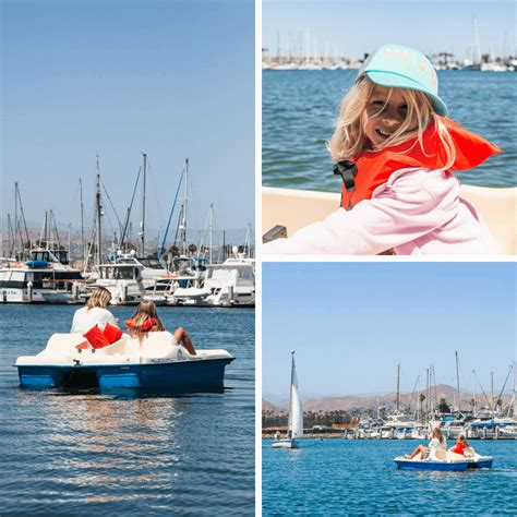 paddle boats ventura harbor 17 amazing things to do in ventura california with kids