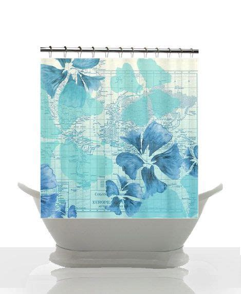 shower curtains beach beach house shower curtain hibiscus flower power maps