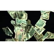 Slow Motion Falling Money US DollarsMotion Background