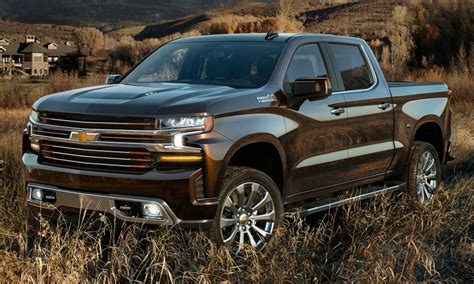 Cheysa New Series new 2019 chevy silverado debuts with diesel engine 450 lbs lighter autotribute