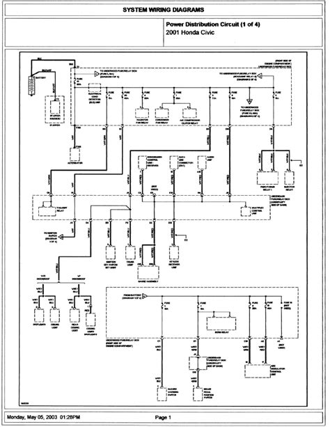2002 honda cr v wiring diagram wiring diagrams