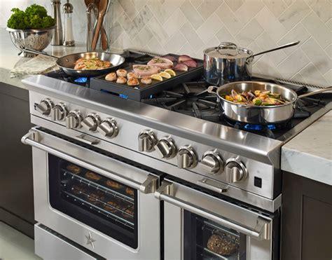 blue 48 range bluestar platinum series 48 quot range modern kitchen