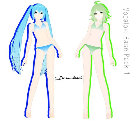 mmd bases mmd vocaloid bases pack 1 dl by sailorconfessions on
