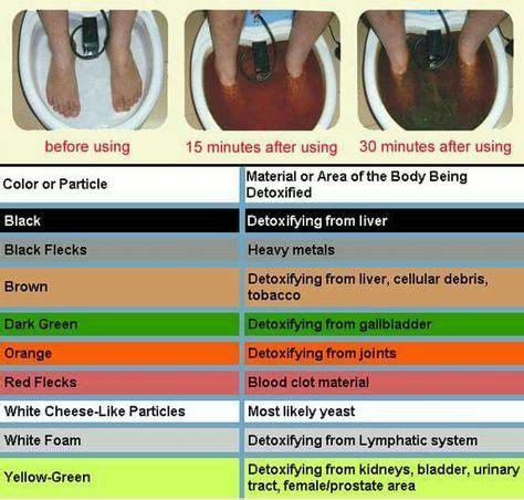 Can Seasalt Detox Ammonia by 17 Best Ideas About Foot Detox On Detox Foot
