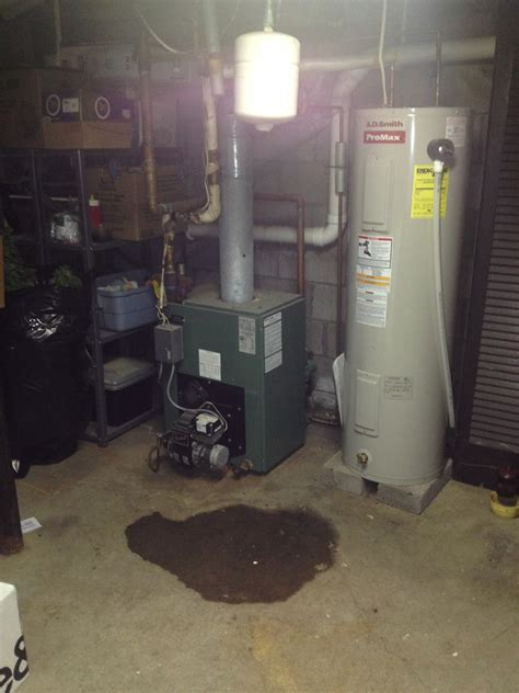 Ac Water Heater central air conditioner leaking water basement 100