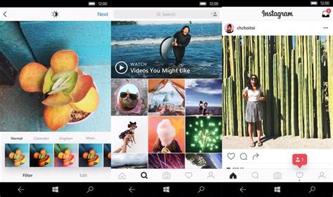 instagram mobile version nueva versi 243 n de instagram para windows 10 mobile 161 a