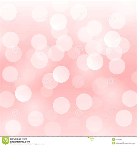 Spring Decoration by Vector Abstract Background With Blurred Defocused Light
