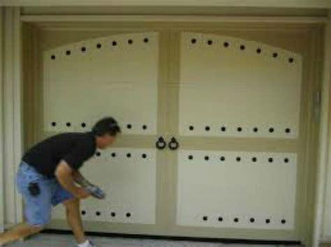 Decorative Hinges For Doors by Magnetic Garage Door Decorative Hardware Kit Hinges Black