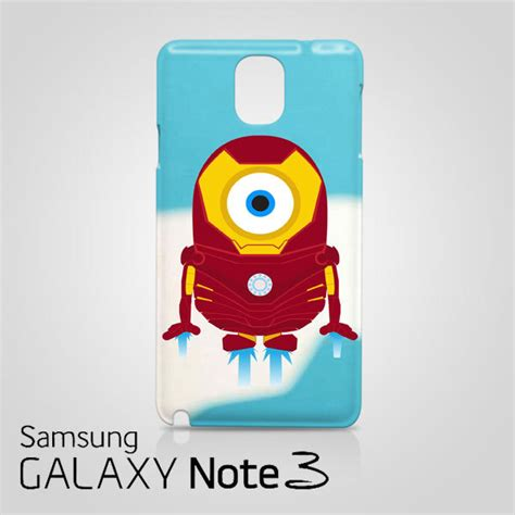 Minion Despicable Me Tpu Samsung Galaxy Note 3 Biru Gelap 1 despicable me minion iron samsung galaxy note 3 wrap around cases covers skins