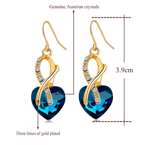 Anting Fashion Jewelery set kalung dan anting austrian pendants green jakartanotebook