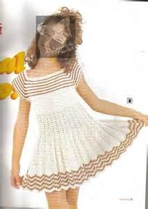 Crochet dress for little girls on the summer make handmade crochet