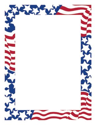 army pattern border american flag borders clipart best