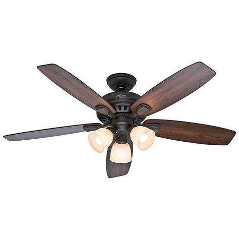 hunter highbury ceiling fan hunter highbury 52 in indoor new bronze ceiling fan with