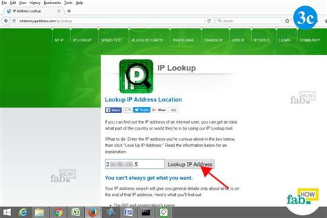 Ip Address Lookup Of Website How To Trace An Ip Address Like A Hacker Fab How
