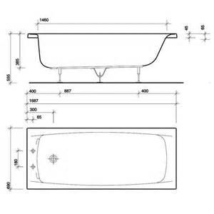 average dimensions of a bathtub codixes