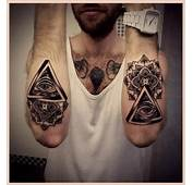 Cool Eye Tattoos On Arm For Men  Man