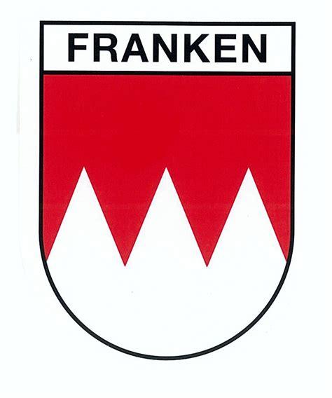 Aufkleber 60 X 60 by Aufkleber Wappen Franken 80 X 60 Mm Schneller