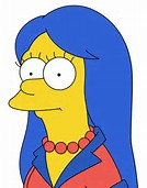Marge Simpson Character