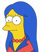 Marge Simpson Young
