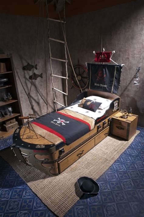 pirate bedroom furniture black pirate kids bedroom collection eclectic kids