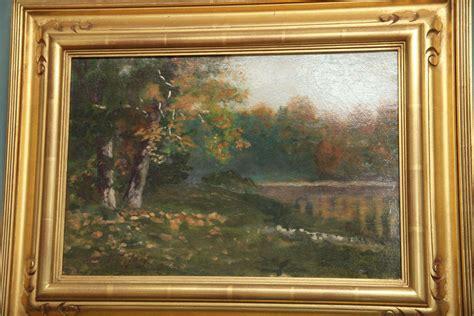 louis comfort tiffany paintings landscape painting by louis comfort tiffany at 1stdibs